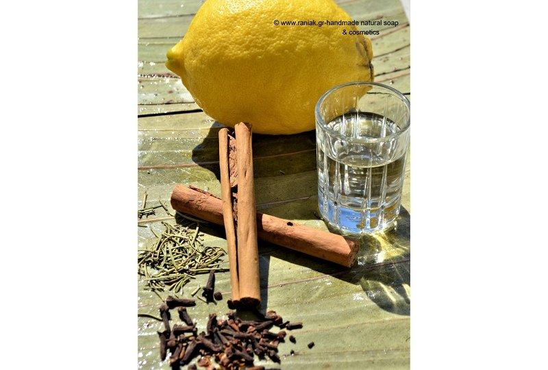 Rania K handmade natural soap- four thieves oil blend b1
